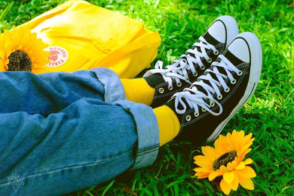 warm feet equals a warm uterus -