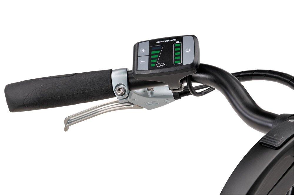 Der er fuld kontrol over fart, gearing og el-forbrug når man kører elcykel.