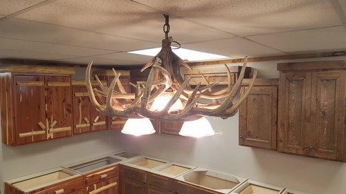 Whitetail 10 antler chandelier ez mountain rustic furniture whitetail 10 antler chandelier aloadofball Image collections