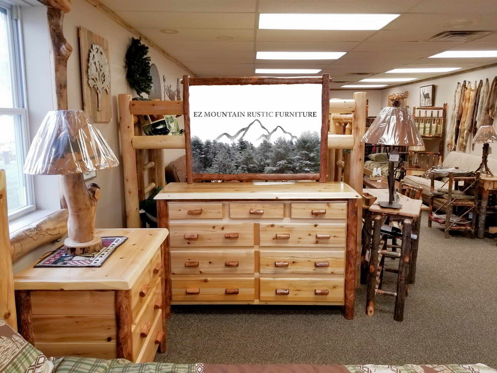 White Cedar 9 Drawer Dresser