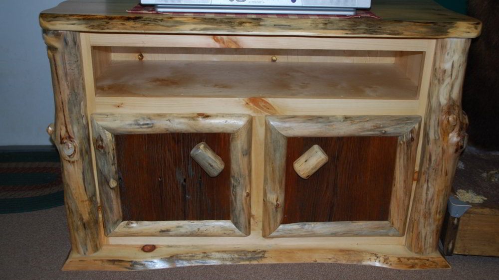 Pine Tv Stand Ez Mountain Rustic Furniture