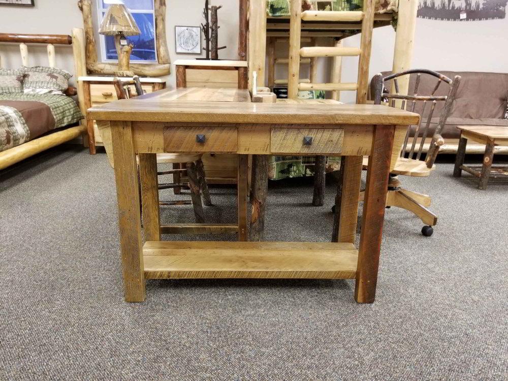 Barnwood Sofa Table Ez Mountain Rustic Furniture