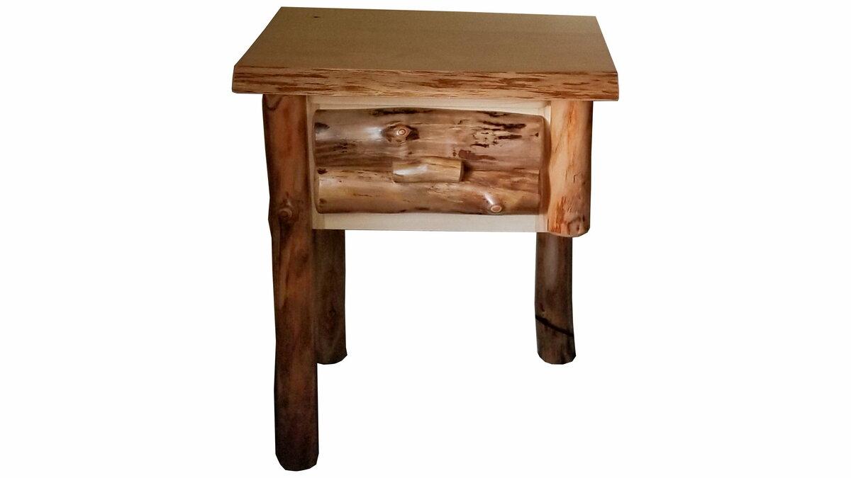 Aspen Floating Nightstand Ez Mountain Rustic Furniture