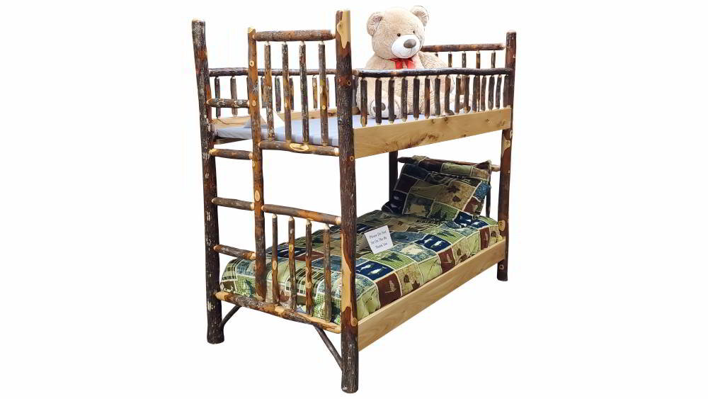 Hickory Bunk Bed Ez Mountain Rustic Furniture
