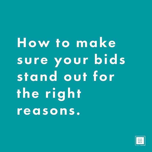 Every bid is an opportunity to make an impression on your potential clients, but a poorly executed strategy could make you stand out from the competition for the wrong reasons. So next time you are about to put together a bid, consider these six tips for making sure your bid hits the mark. ✨ 1) Demonstrate you have understood your client's objectives 2) Identify three winning themes 3) Ensure your submission is logical and easy to review 4) Make it memorable through the use of graphics 5) Do not promise what you cannot deliver 6) Provide evidence and facts over marketing statements ✨ Head to the blog to read the full article (link in bio 🔗). ✨ Eloquence Works offers flexible and agile bid and proposal services to help construction businesses win more work, including bid management, tender design and proposal editing services. If you would like an audit of your current submissions or to discuss how a different approach could help you win more work, then please get in touch. ✨ #strategicmarketing #bidding #proposalmanagement