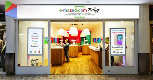 Open a e-mazed.com exclusive retail store