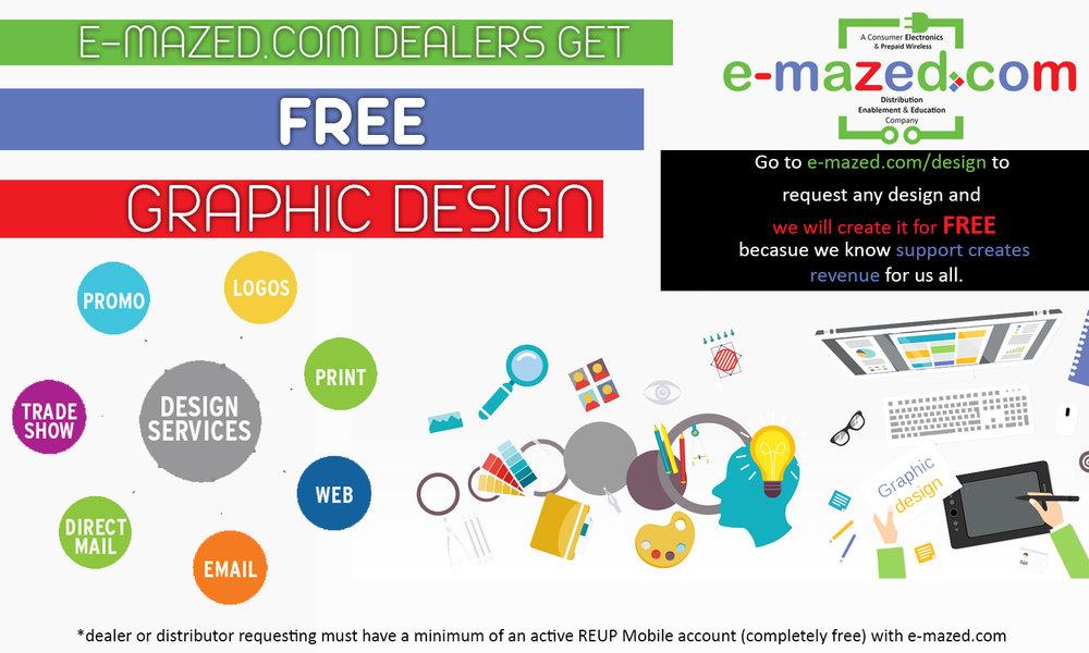 Request FREE graphic design service