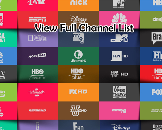 Click here to access full channel list