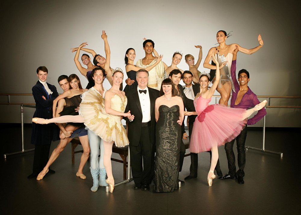 Jean Pierre and Patricia with the Charlotte Ballet Company