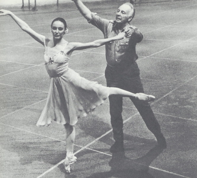 Patricia and George Balanchine