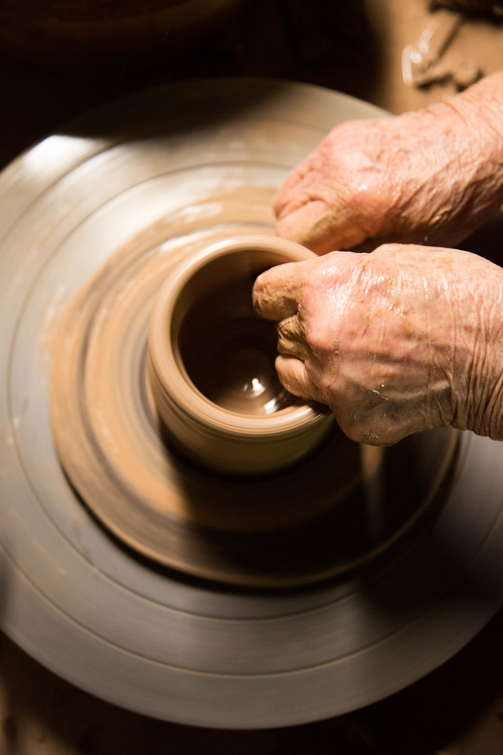 Lula Bolick's made thousands of pieces of pottery.