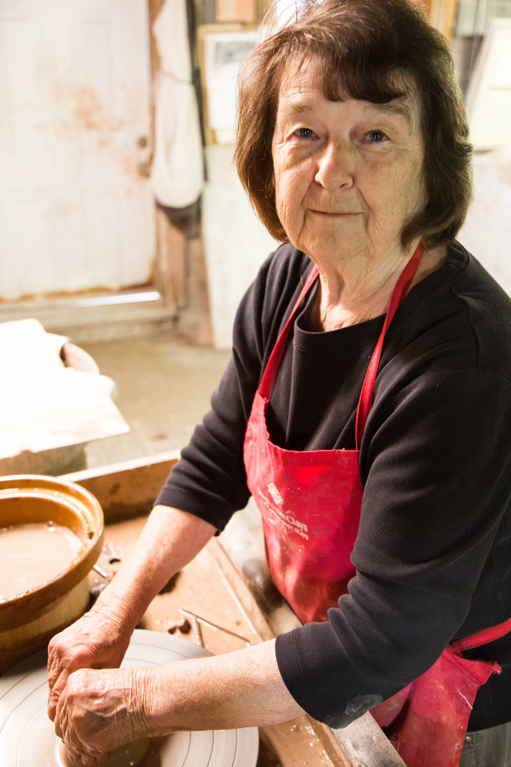 Lula Bolick is a fifth-generation potter.