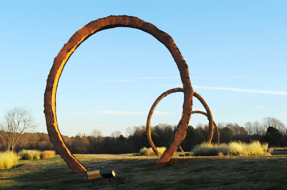 """gyre,"" north carolina museum of art, raleigh, nc"