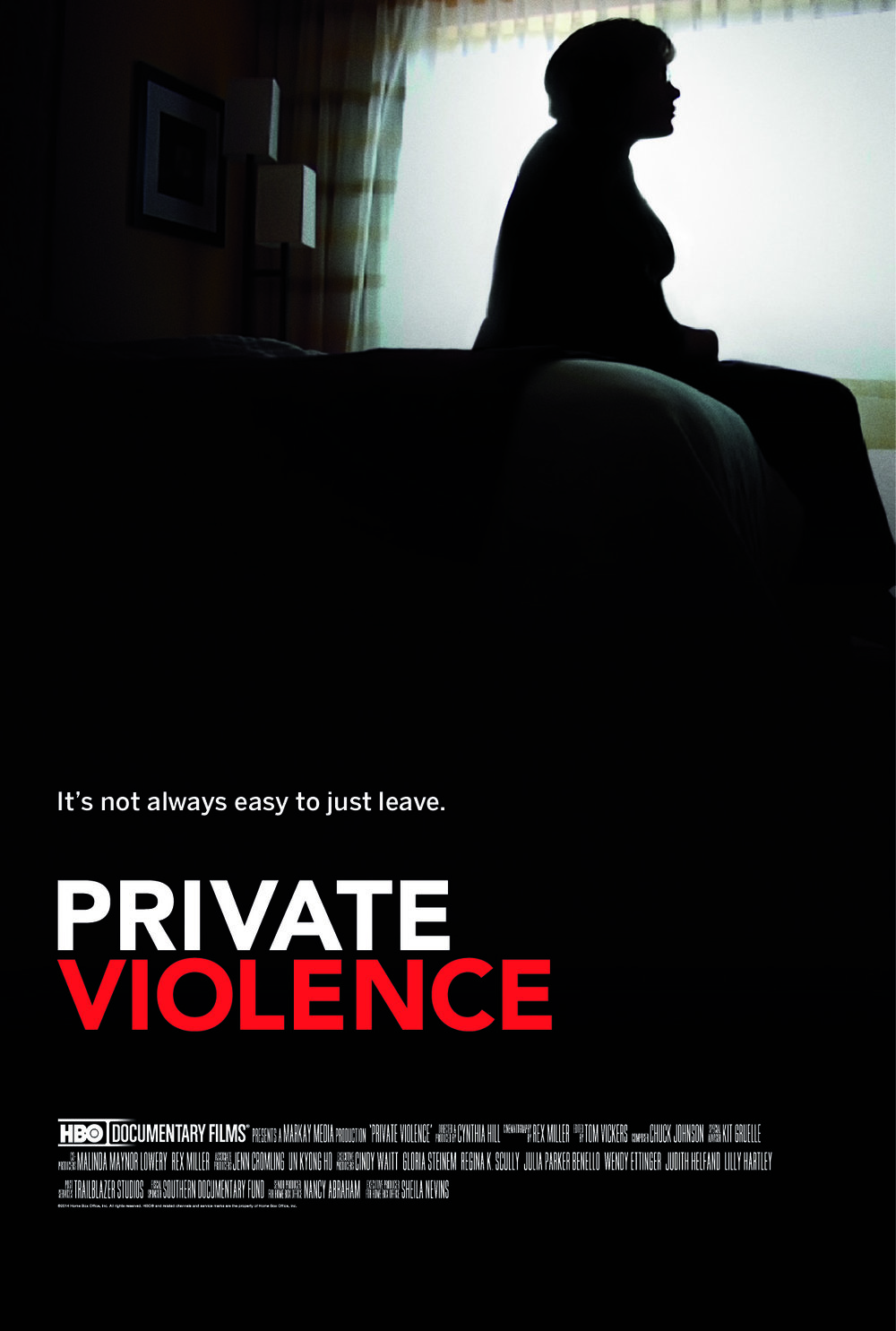 "cover art for ""Private Violence."""