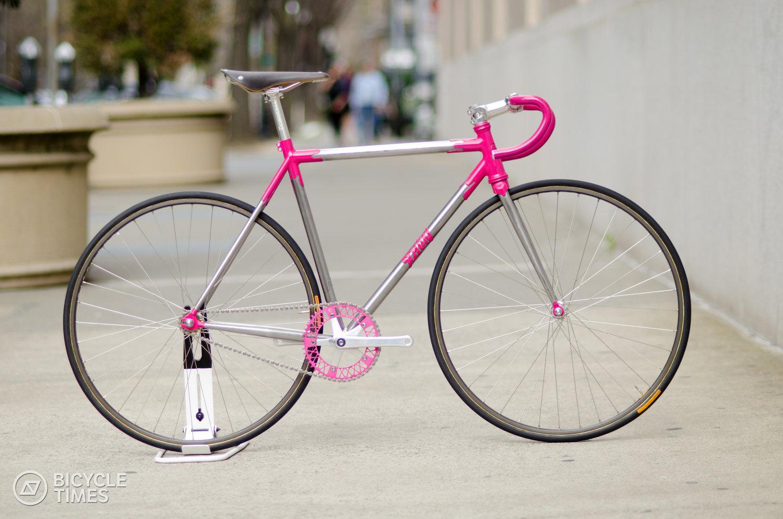 Donut inspired track bike