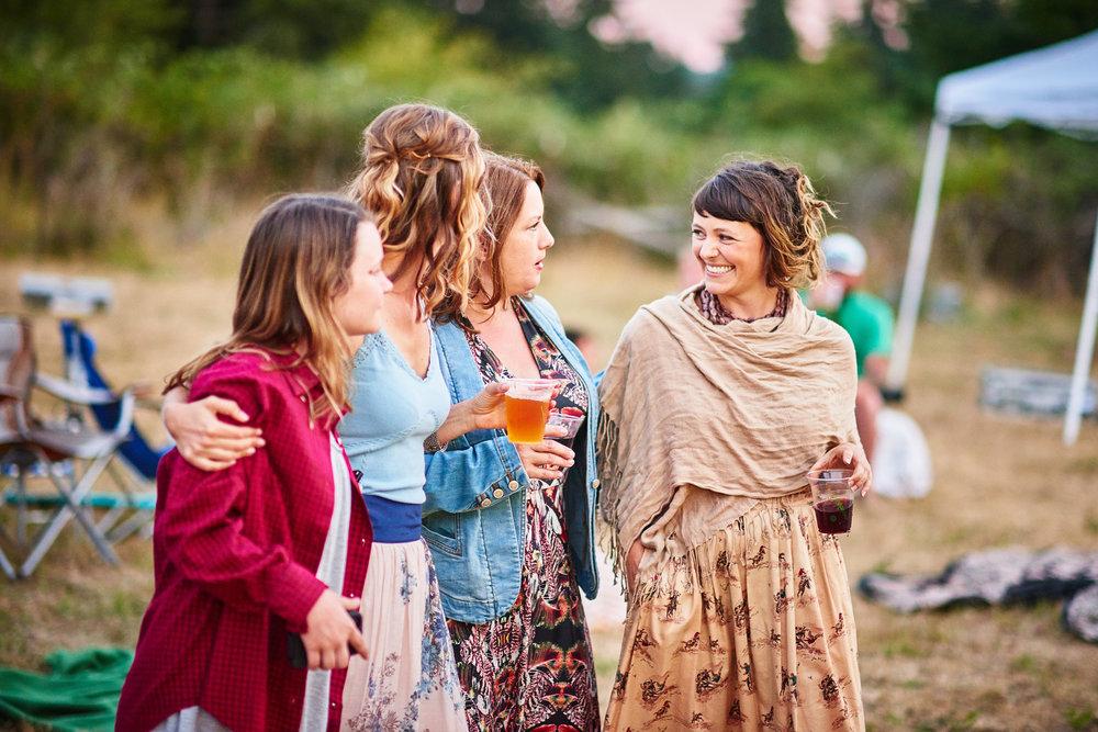 women outdoors at plum nelli farm wedding.jpg