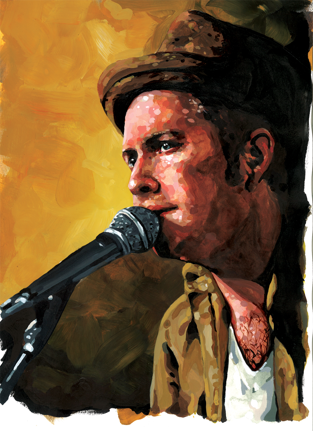 You come to paint. Let us take care of the rest! Portrait by Jeremy Davis.