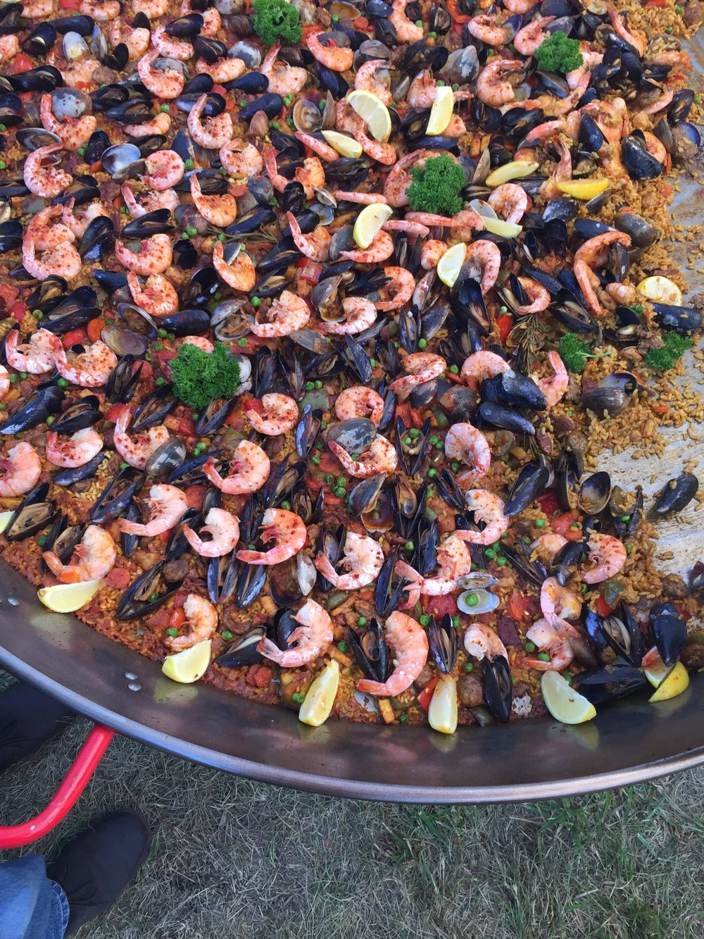 Paella House serves up seafood, meat and vegetarian paella at the PT Farmers Market on Saturdays.