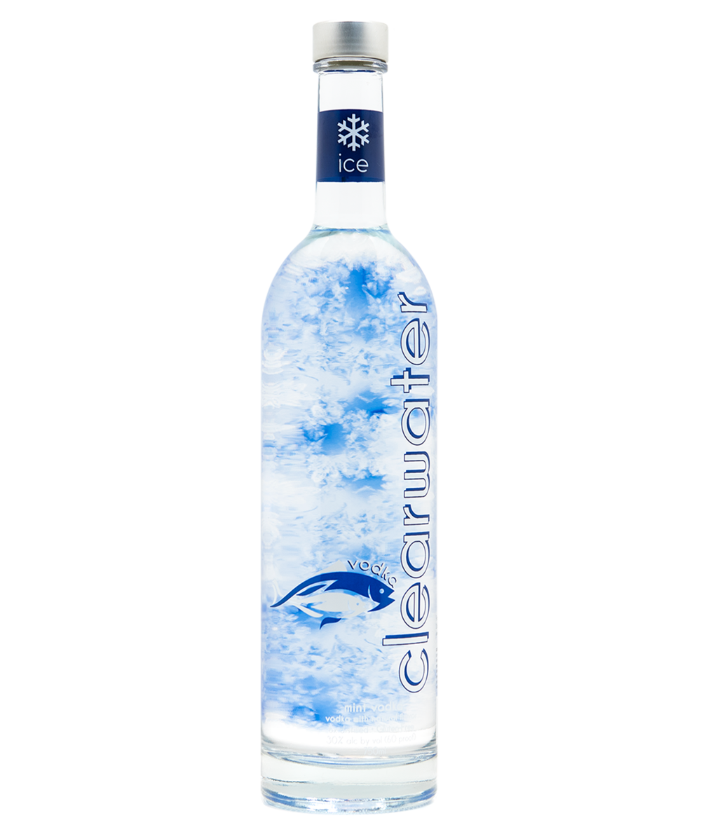 CLEARWATER ICE - Using Clearwater Air's premium gluten-free base blended with natural mint flavors for a fresh, invigorating finish, Clearwater Ice is an exciting new way to enjoy the world's most popular spirit.