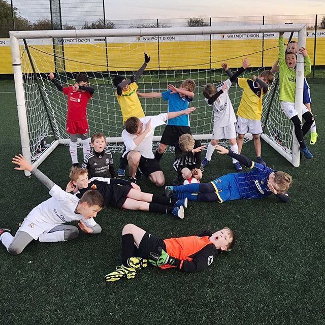 A dab-tastic birthday party? Success! #football #youth #party #dab