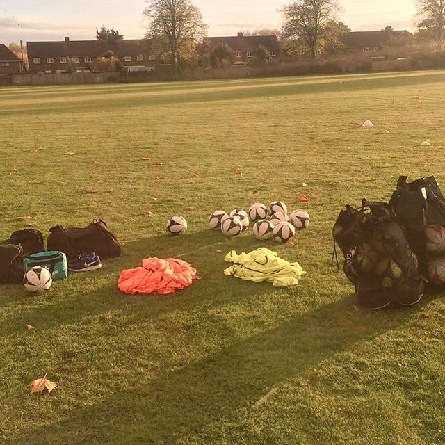 ⚽️ We're back at Chandlers Field School for some girls football this afternoon! #coaching #school #girlsfootball