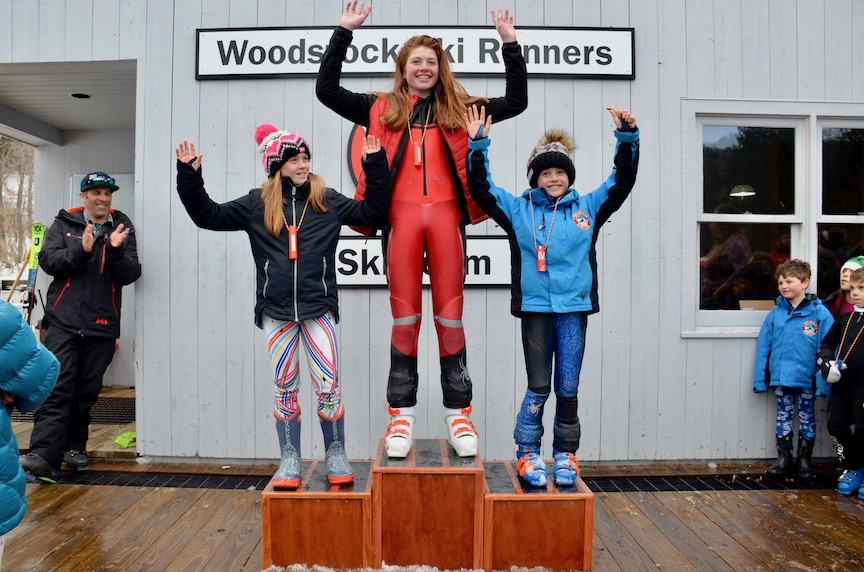 U12 Girls Podium