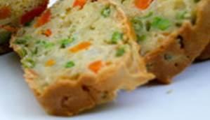 Pique-nique facile - cake aux légumes Valérie Vivre en Santé