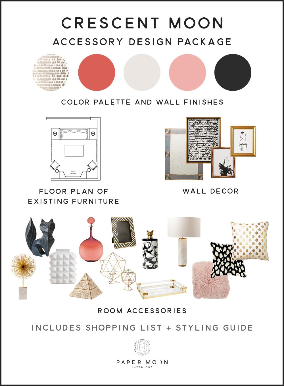 Online Interior Design Services Accessories Package