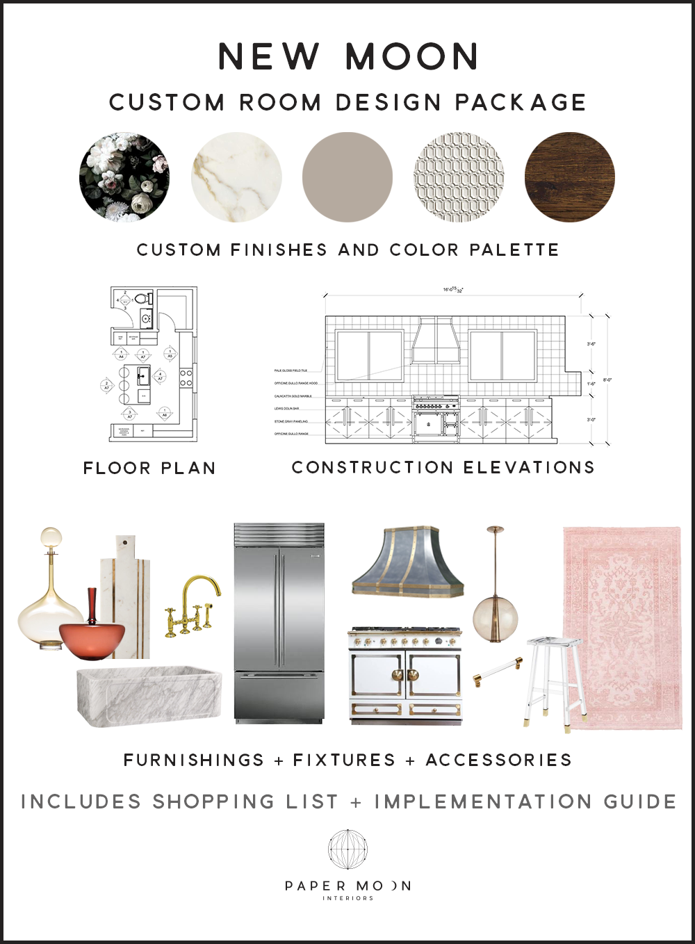 Online Interior Design Services Construction Package