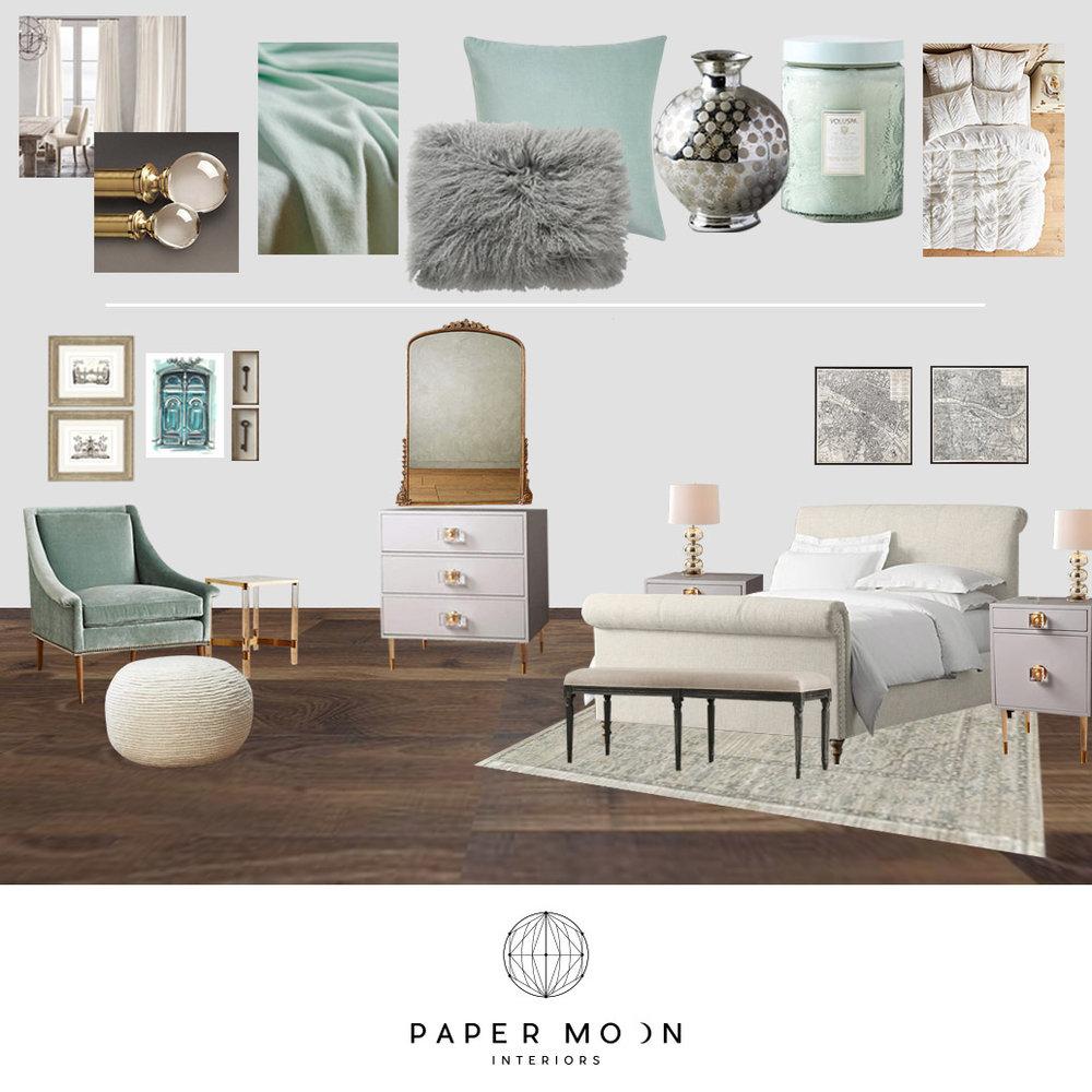 online interior design services modern french bedroom los angeles