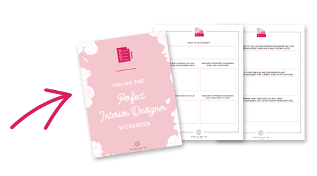 Hiring the Perfect Interior Designer Workbook