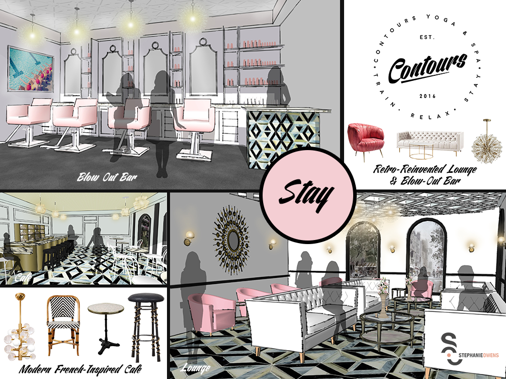 Kate Spade Inspired Restaurant Design