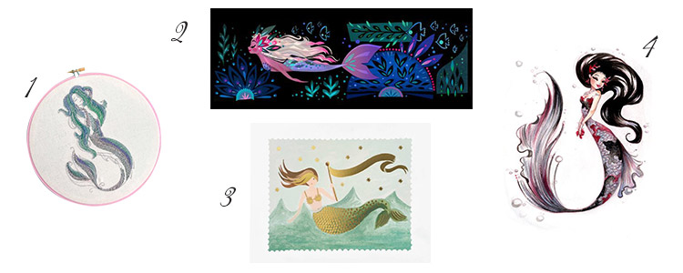 Calling All Mermaids Near And Far! Iu0027ve Rounded Up The Best Mermaid Home