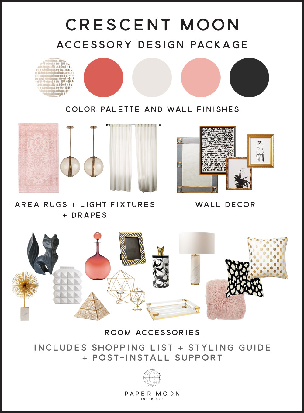 Online Interior Design Services Accessories Package