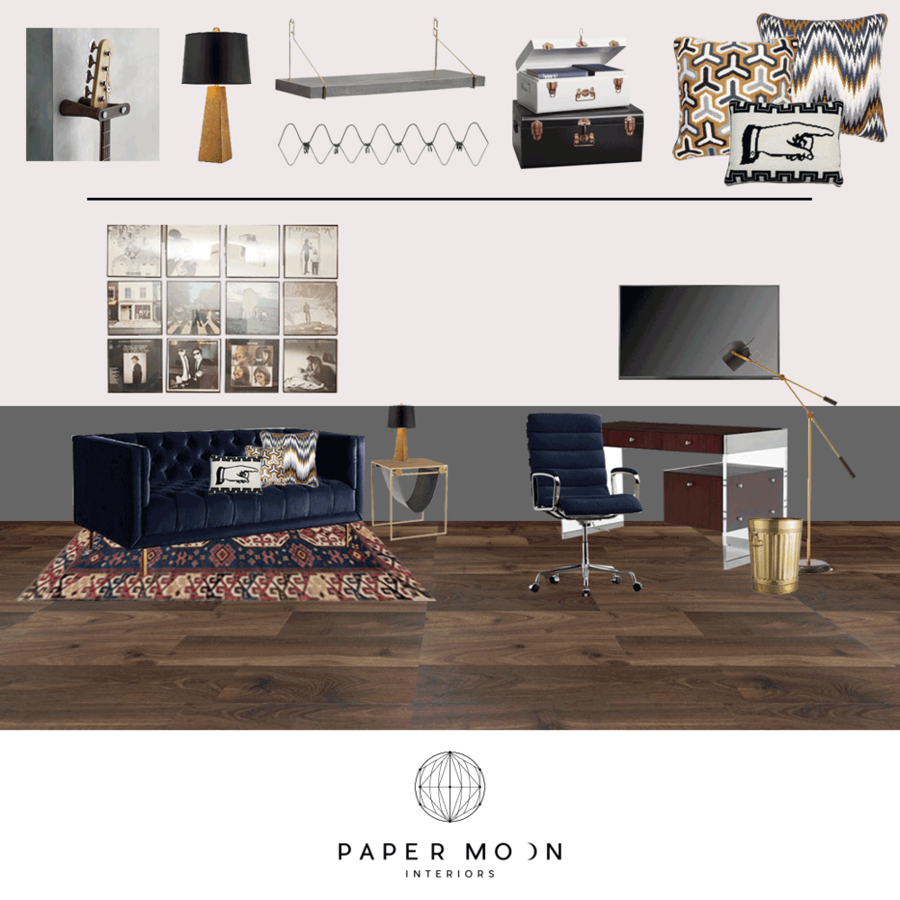 online interior design services paper moon interiors