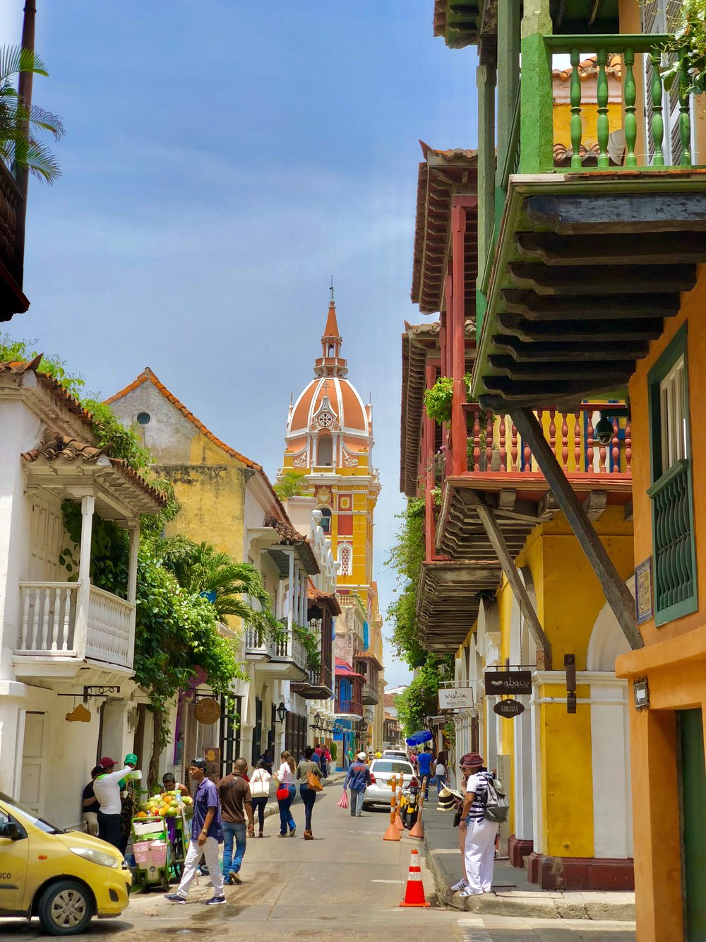 Within the Walled City of Cartagena