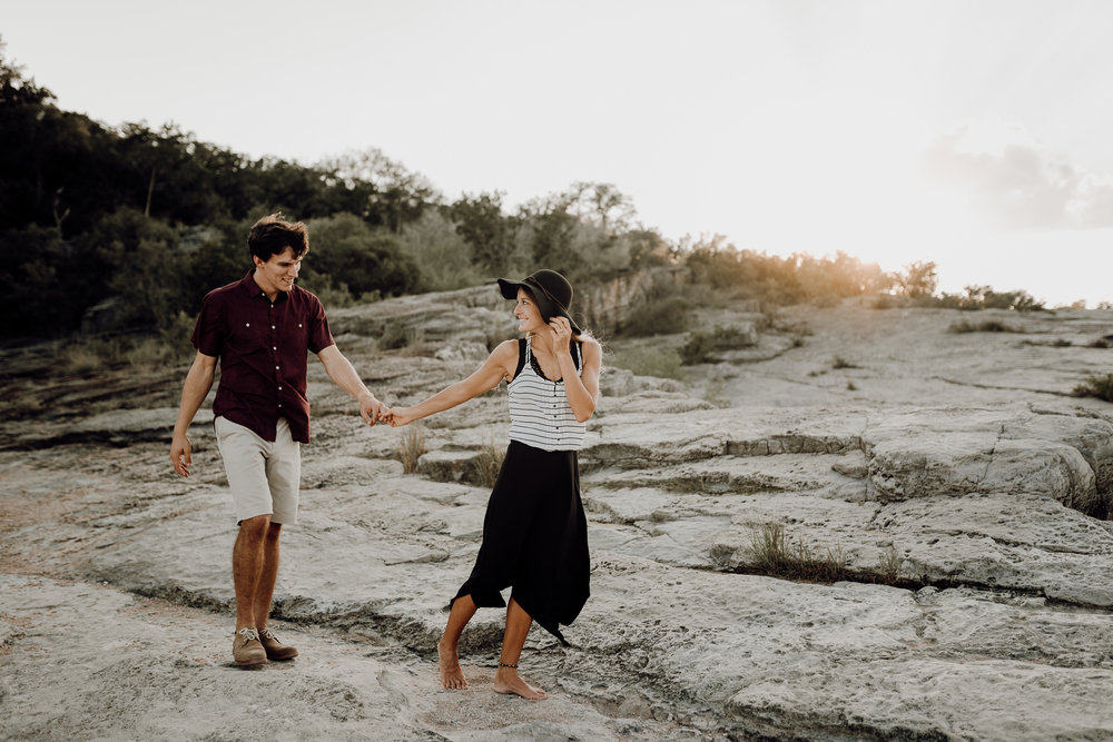 Michelle + Aron | Pederbales Falls Texas Engagement| Kristen Giles Photography - 029.jpg