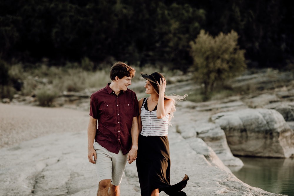 Michelle + Aron | Pederbales Falls Texas Engagement| Kristen Giles Photography - 044.jpg