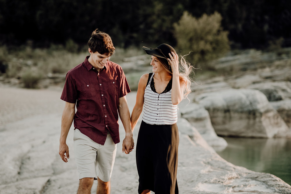 Michelle + Aron | Pederbales Falls Texas Engagement| Kristen Giles Photography - 046.jpg