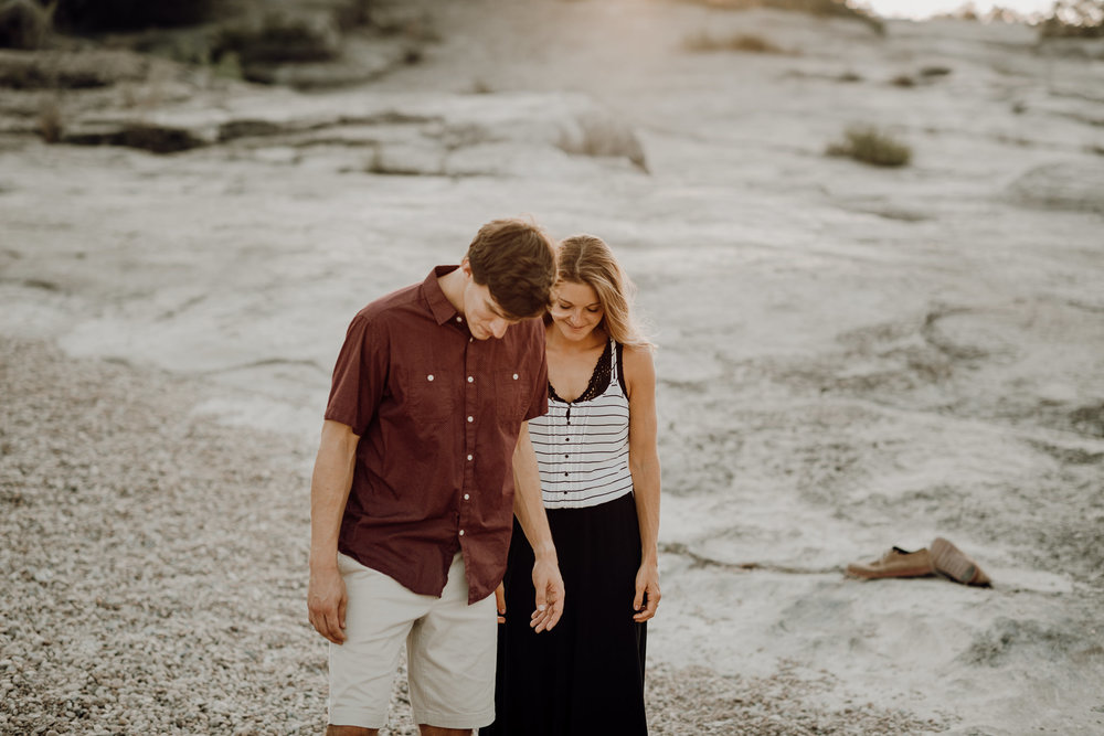 Michelle + Aron | Pederbales Falls Texas Engagement| Kristen Giles Photography - 055.jpg