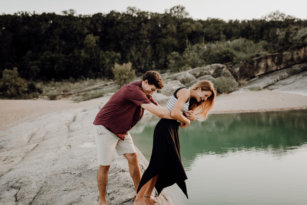 Michelle + Aron | Pederbales Falls Texas Engagement| Kristen Giles Photography - 073.jpg