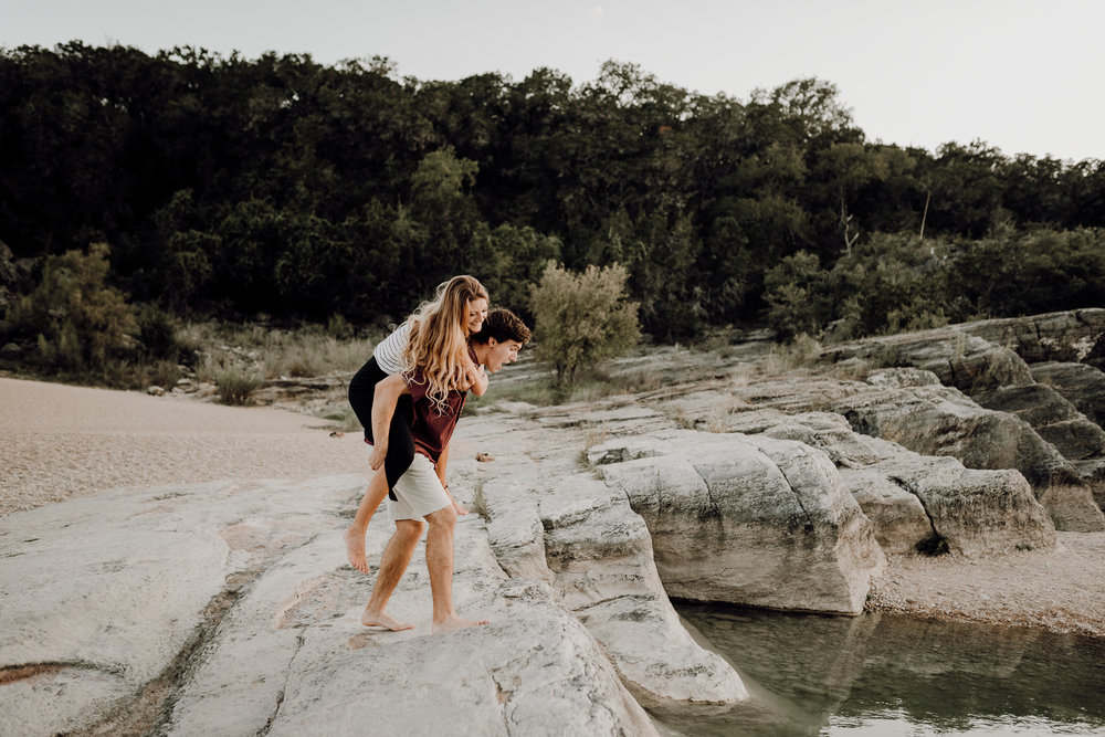 Michelle + Aron | Pederbales Falls Texas Engagement| Kristen Giles Photography - 075.jpg