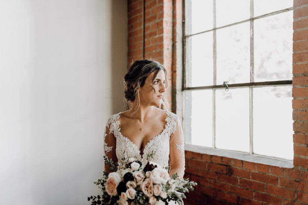 Denton Texas Industrial Romantic Bride- Houston Wedding Photographer -Kristen Giles Photography-3.jpg
