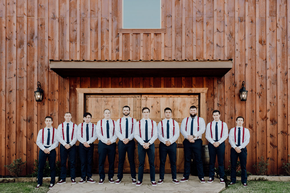 Michelle + Aron-Houston Wedding Photographer-Magnolia Meadows-Winter Wedding | Kristen Giles Photography - 008.jpg
