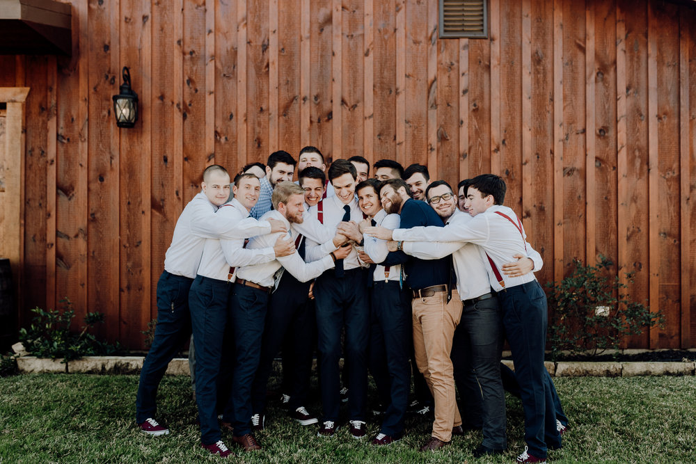 Michelle + Aron-Houston Wedding Photographer-Magnolia Meadows-Winter Wedding | Kristen Giles Photography - 009.jpg