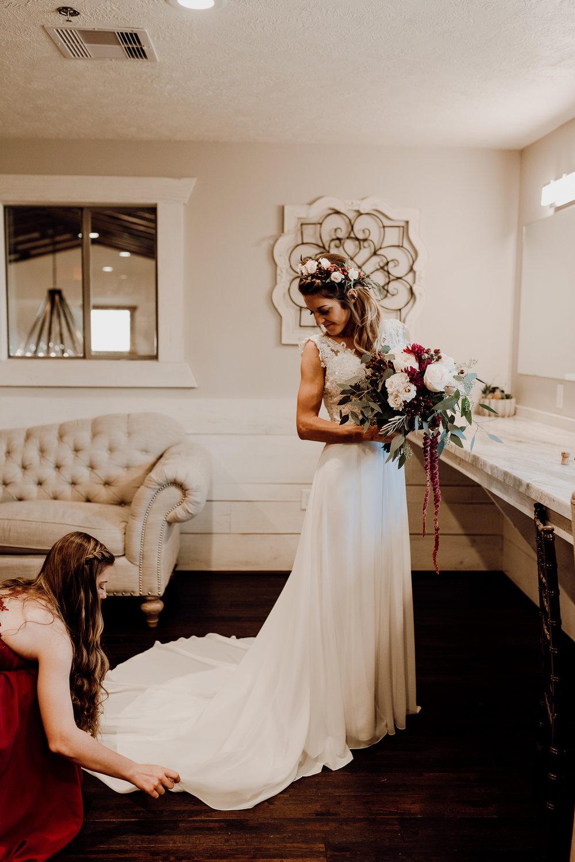 Michelle + Aron-Houston Wedding Photographer-Magnolia Meadows-Winter Wedding | Kristen Giles Photography - 017.jpg