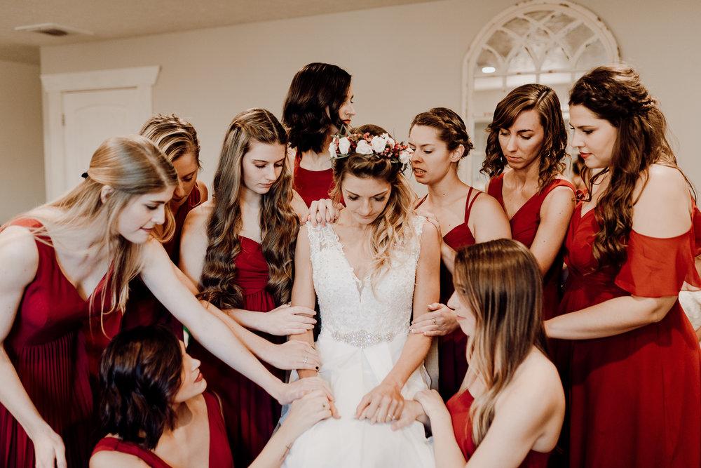 Michelle + Aron-Houston Wedding Photographer-Magnolia Meadows-Winter Wedding | Kristen Giles Photography - 033.jpg