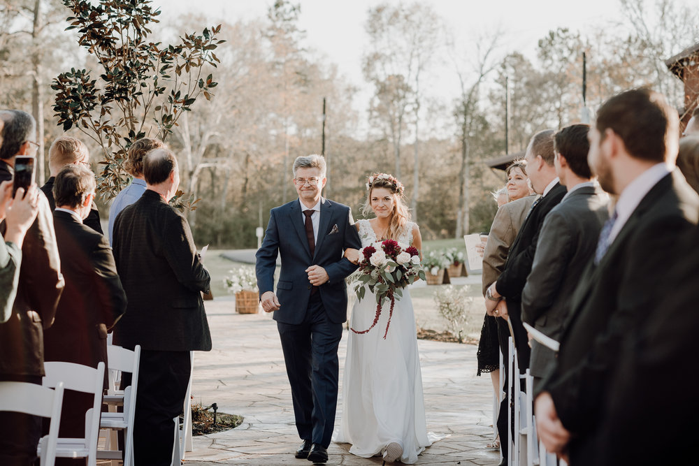Michelle + Aron-Houston Wedding Photographer-Magnolia Meadows-Winter Wedding | Kristen Giles Photography - 039.jpg