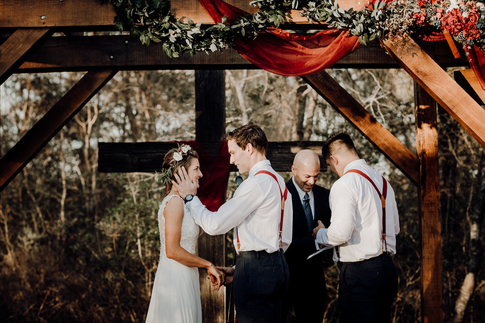 Michelle + Aron-Houston Wedding Photographer-Magnolia Meadows-Winter Wedding | Kristen Giles Photography - 044.jpg