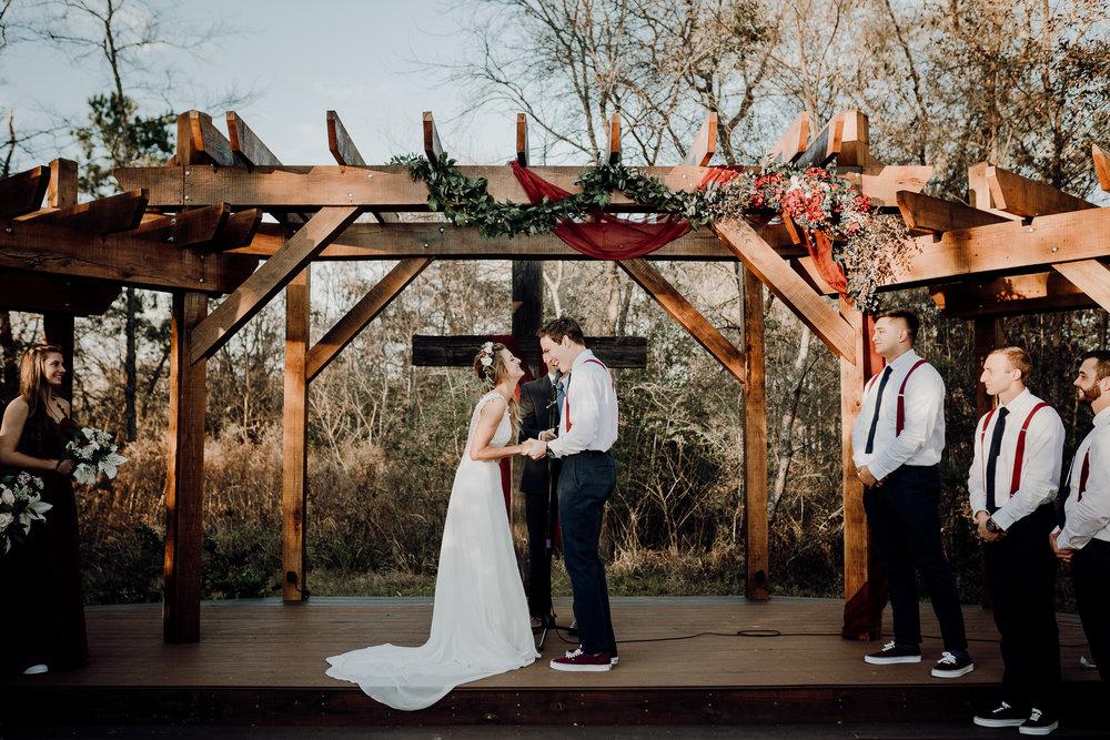 Michelle + Aron-Houston Wedding Photographer-Magnolia Meadows-Winter Wedding | Kristen Giles Photography - 046.jpg